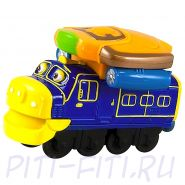 Chuggington. Die-Cast. Паровозик Брюстер (со светом и звуком)